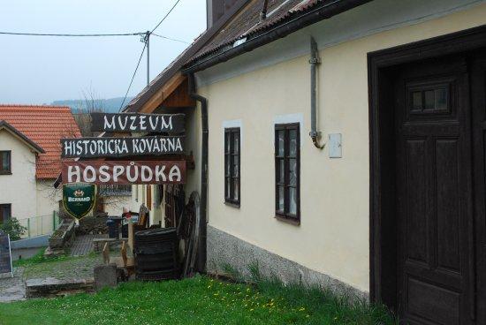 Klatovy, República Checa: restaurace Na Kovárně