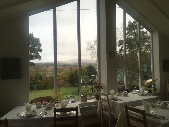 Troutbeck, UK : Best breakfast and view!