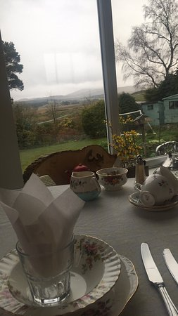 Troutbeck, UK: Best breakfast and view!