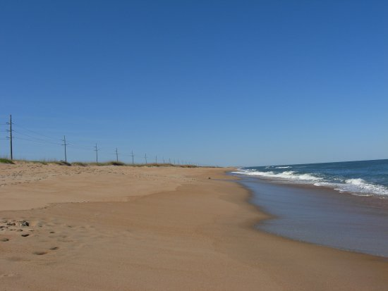Cape Hatteras Motel: Looking North