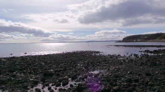 Blackhead Path: The view south