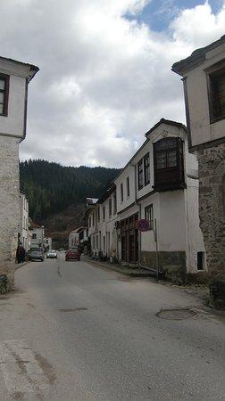 Shiroka Laka, Βουλγαρία: Широка Лъка, центральная улица