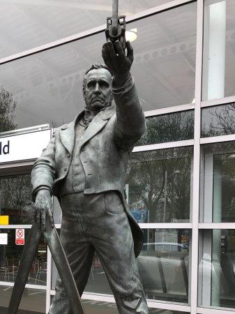 George Stephenson Statue