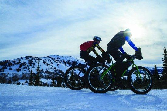Alta, Ουαϊόμινγκ: Fat biking trails