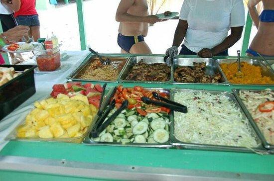 Bayahíbe, República Dominicana: Ricco buffet in Saona