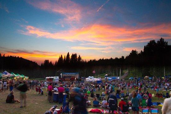 Alta, WY: Music festivals
