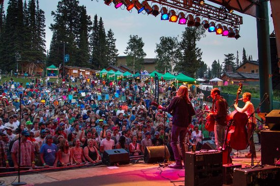 Alta, WY: Summer music festivals