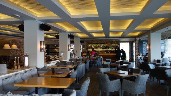 Restaurant interior picture of moorings vouliagmeni
