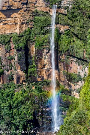 Blackheath, Australia: Waterfall at Govetts Leap