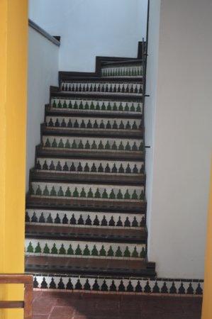 Hotel Casa Imperial: As escadas
