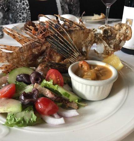 Chef Michael's: Lionfish appetizer