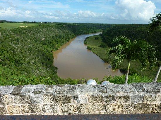 Altos de Chavon: Vista del Rio Chavon