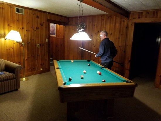 "Big Lynn Lodge: The ""Activity Room"""