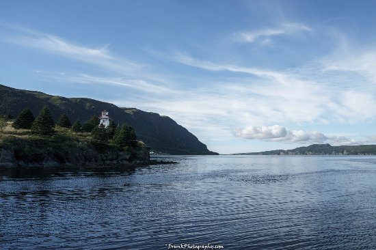 Woody Point, Canada: Look out on the water