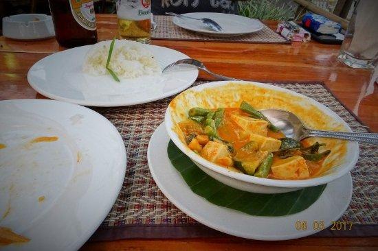 Rosella Fusion Restaurant: Das Curry - ein Traum