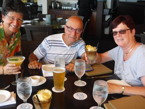 Beach House Restaurant: Enjoying ourselves
