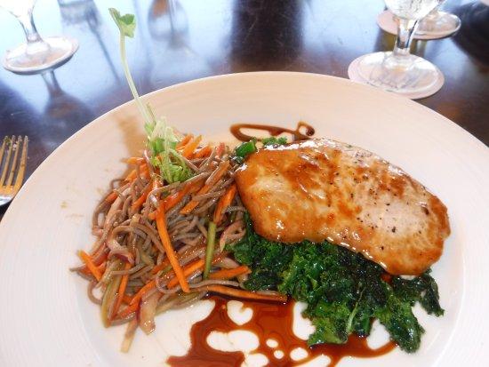 Beach House Restaurant: Miso-glazed catch of the day