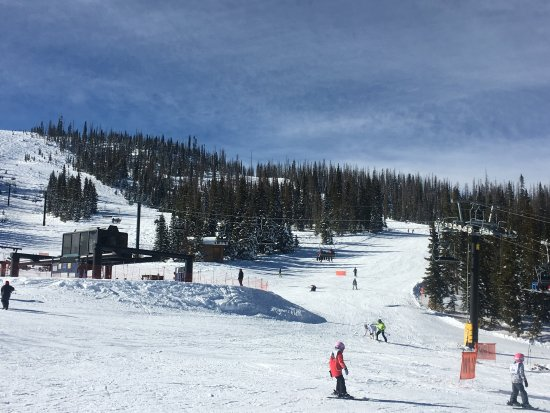 Pagosa Springs, CO: Perfect day for skiing