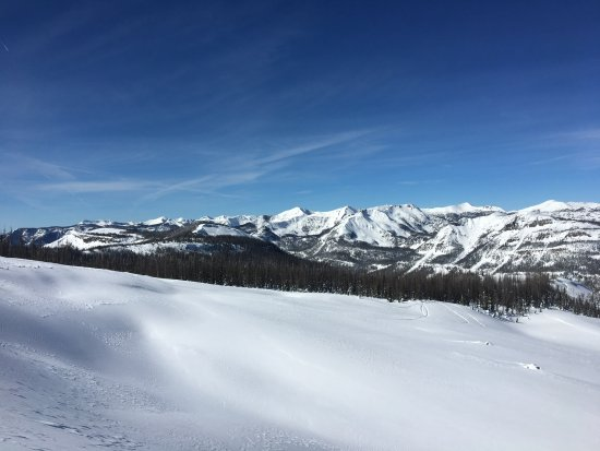 Pagosa Springs, Kolorado: From the top of Bonanza Chair