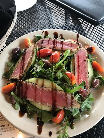 Westerville, OH: ahi tuna appetizer