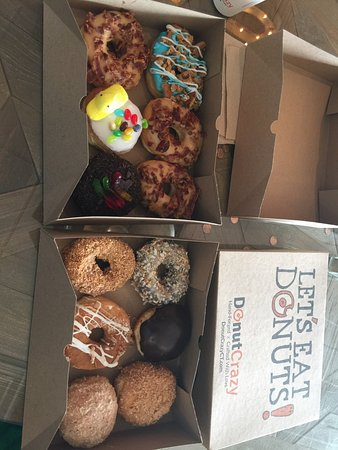 Shelton, CT: Donut Crazy lived up to all our expectations. We loved the variety of choices. The donuts were f