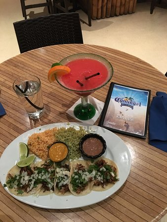 CANTINA #1: Tacos and Yummy Drink
