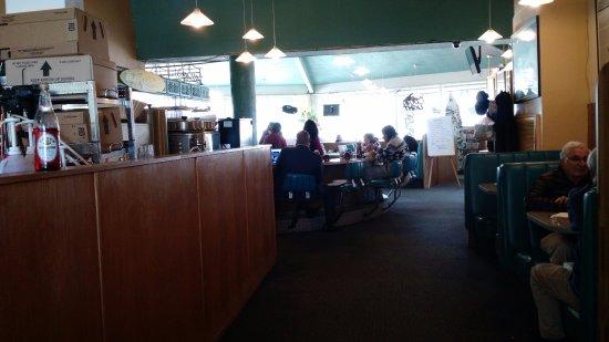 Μίλμπρε, Καλιφόρνια: Dining area