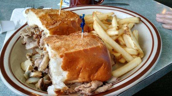 Μίλμπρε, Καλιφόρνια: Roast Beef sandwich