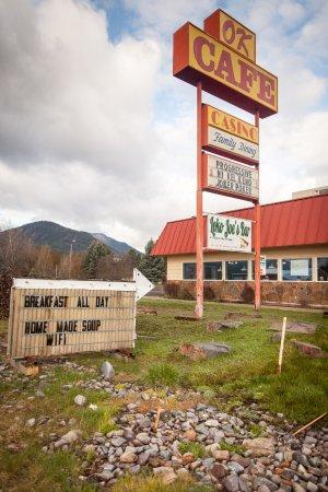 Saint Regis, MT: Entrance