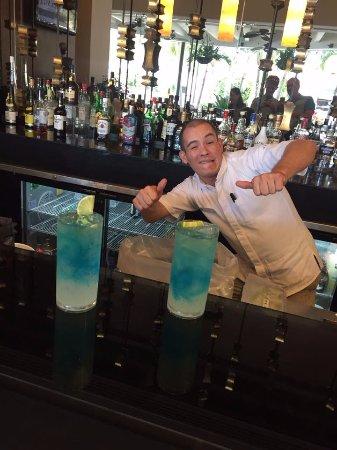 Marival Residences Luxury Resort Nuevo Vallarta: Esau at Brunello and his original Esaurita!
