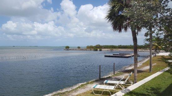 Sugarloaf Key, Floryda: Ausblick aus unserem Zimmer