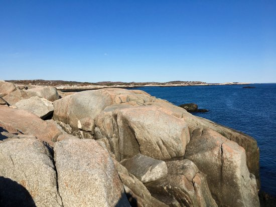 Peggy's Cove, แคนาดา: Beautiful walk over the rocks