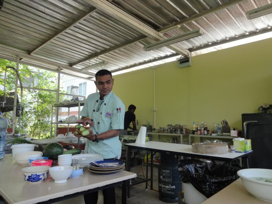 Nong Thale, Tailandia: Teaching