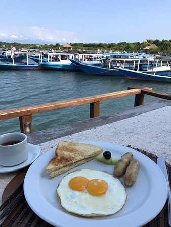 Banyuwedang, Indonesia: Breakfast with View!