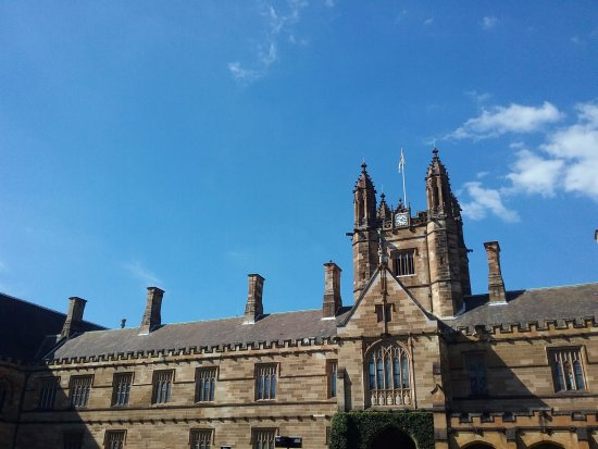 University of Sydney: Taken from within the Quadrangle.