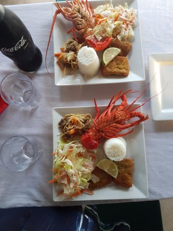 Saleapaga, Samoa: Yummy Seafood included in the price of the room