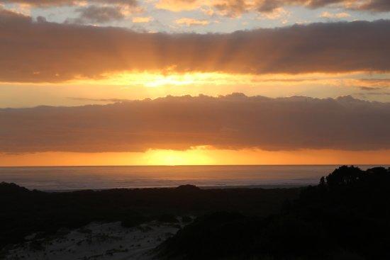 Strahan, Australien: Sunset
