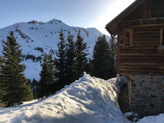 Ophir, CO : View from the Sauna path