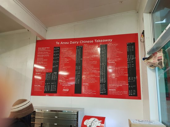 Te Anau Dairy: Plenty of choice