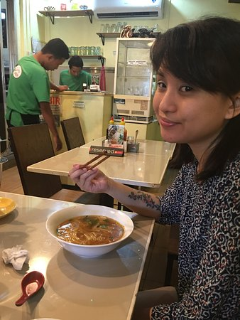 Marikina, Philippines: My daughter loved her seafood Pho and thought it was good value for money