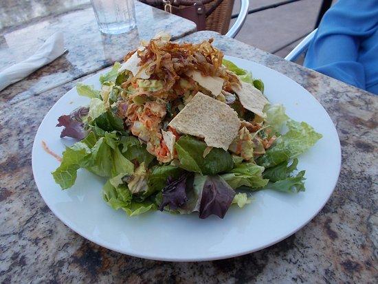 Pita Jungle, Chandler, AZ. Beautiful salad.