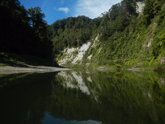 Taumarunui, New Zealand: 5日間、こぎ続け。