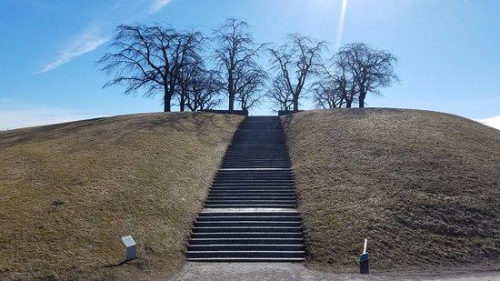 Skogskyrkogården : Meditation hill