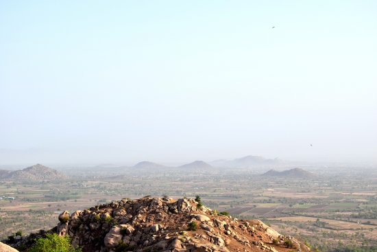 view from idargarh