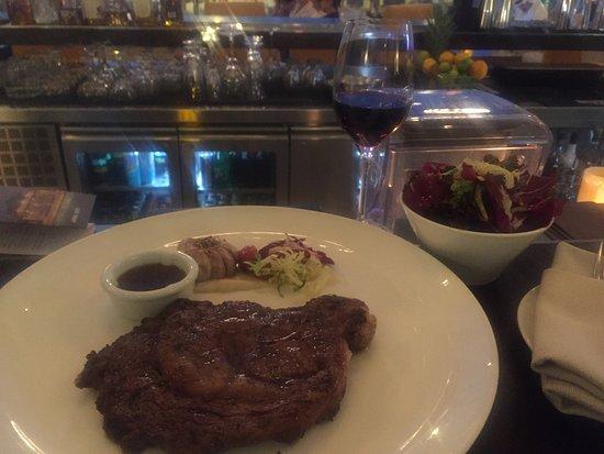 Good steak dinner