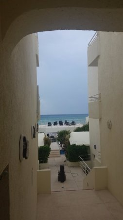 Playa Maya : View from the economy suite