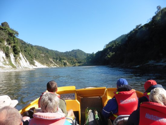 Pipiriki, New Zealand: on the river
