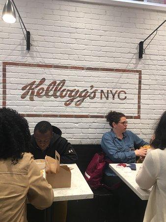 Kellogg's NYC Photo