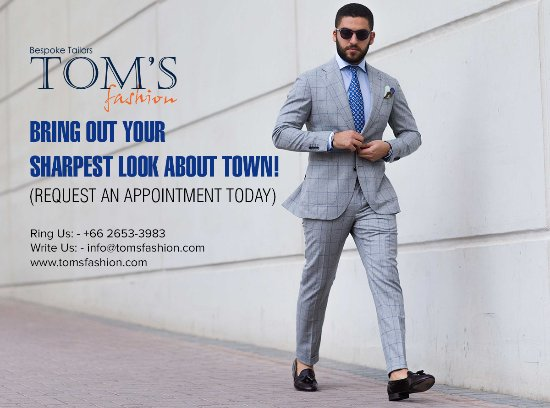 Bring our your sharpest look about town! - Picture of Tom's Fashion