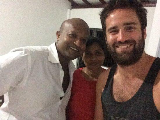 Matara, Sri Lanka: Harsha and Sumali